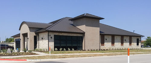 Denton Pediatric Eye Specialists Stevan Buren Commercial Roofing