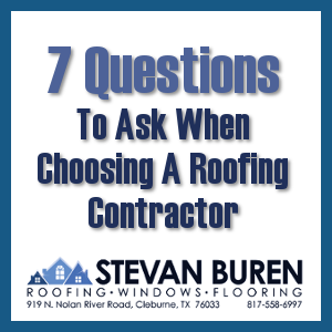 7 Questions to ask when choosing a contractor