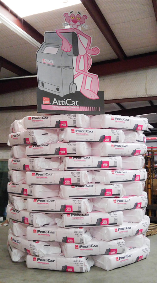 ProCat Professional Insulation System Products at Stevan Buren Roofing, Windows, & Flooring