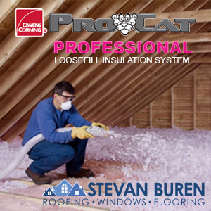 ProCat Professional Insulation System products at Stevan Buren Roofing Windows and Flooring