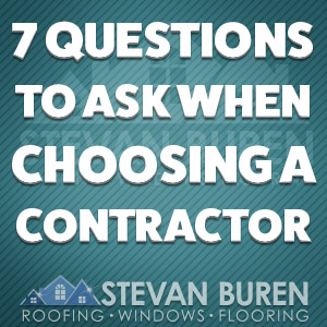 7 Questions To Ask When Choosing A Roofing Contractor