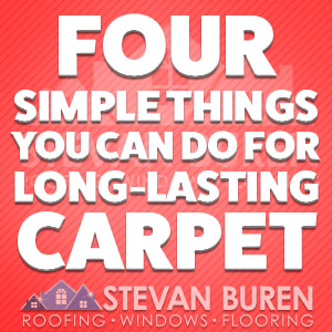Four simple things you can do for long-lasting carpet