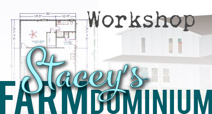 Stacey's Farmdominium: The Workshop Part 1