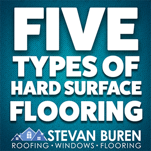 Five Types of Hard Surface Flooring
