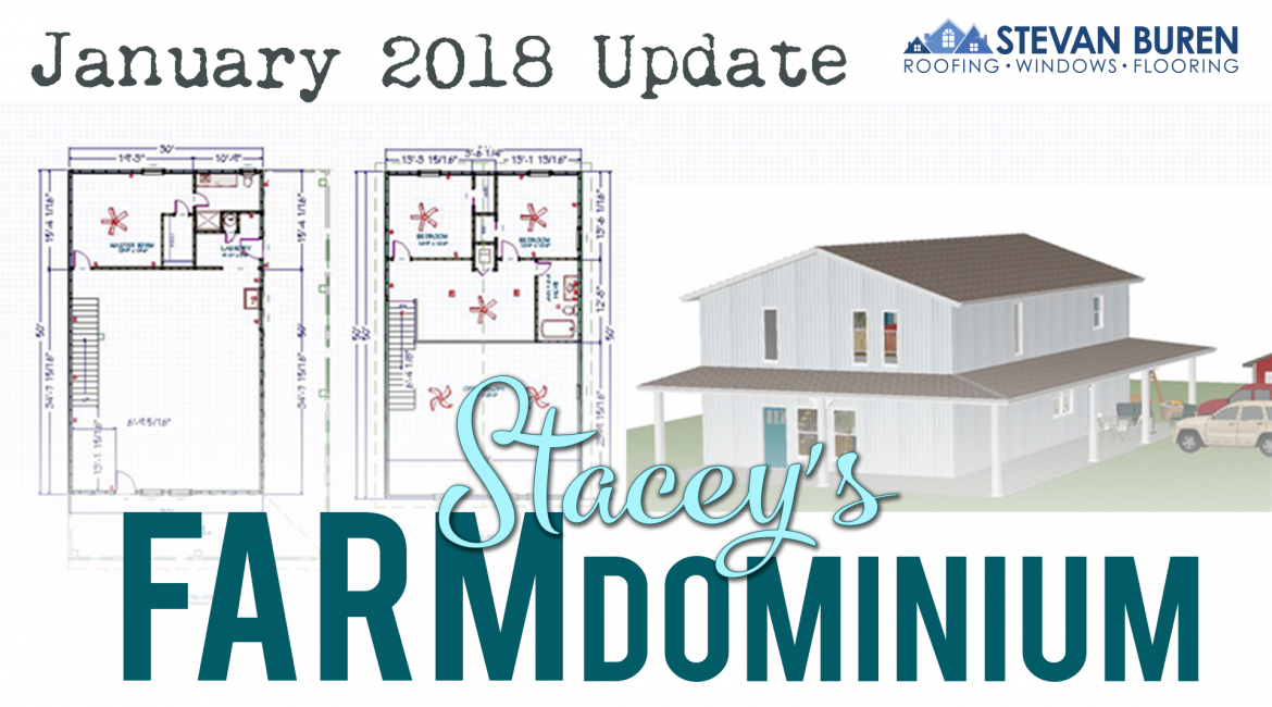 VIDEO: January 2018 Tour of Stacey's Farmdominium
