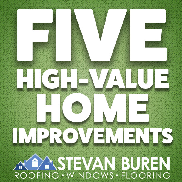 Five High-Value Home Improvements