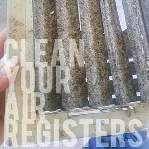 PSA: Clean your air registers