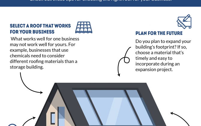 What to Consider When Choosing a Roof for Your Business