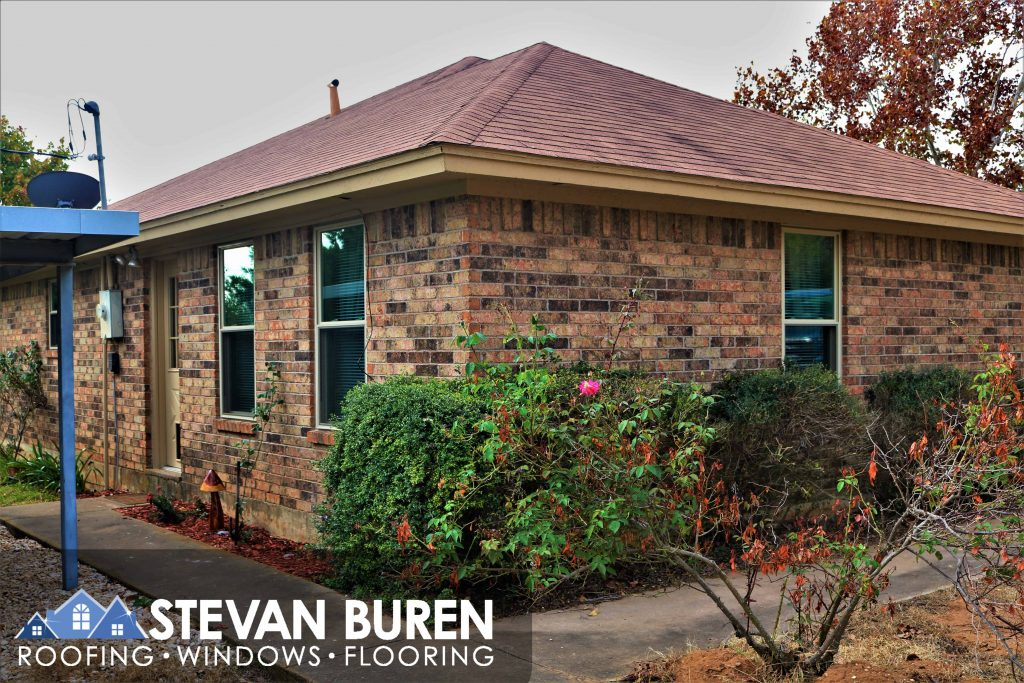 Stevan Buren Windows Installs Tan KHPP Genesis Windows in a house in Cleburne Texas.